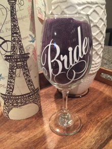 Wedding Personalized Glassware